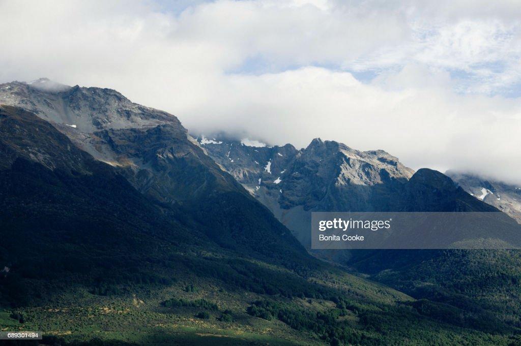 Glenorchy mountain range : Stock Photo