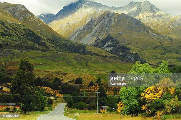 Glenorchy scenery in New Zealand