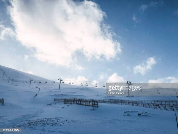 glenshee ski centre - winter sports event stock pictures, royalty-free photos & images