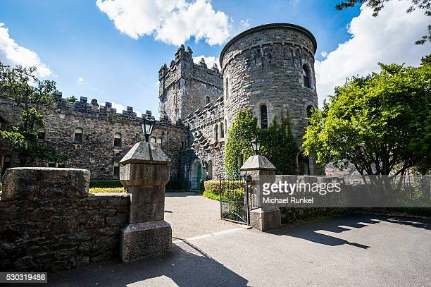 Glenveagh castle in the Glenveagh National Park, County Donegal, Ulster, Republic of Ireland, Europe