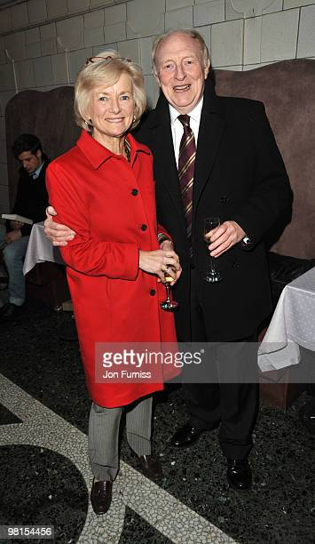 Glenys Kinnock and Neil Kinnock attend the VIP screening of The Ghost on March 30 2010 in London England