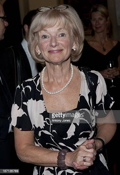 Glenys Kinnock Arrives At 'Gala Nordic Concert' At The Guildhall Great Hall To Celebrate Sweden Taking Over The Presidency Of The European Union
