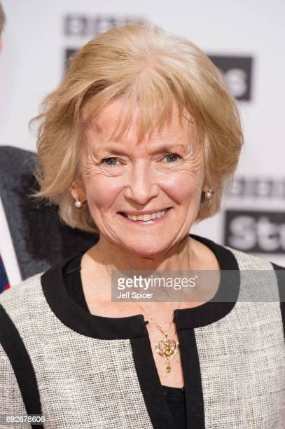Glenys Kinnock attends the Ronnie Barker comedy lecture with Ben Elton at BBC Broadcasting House on June 5 2017 in London England