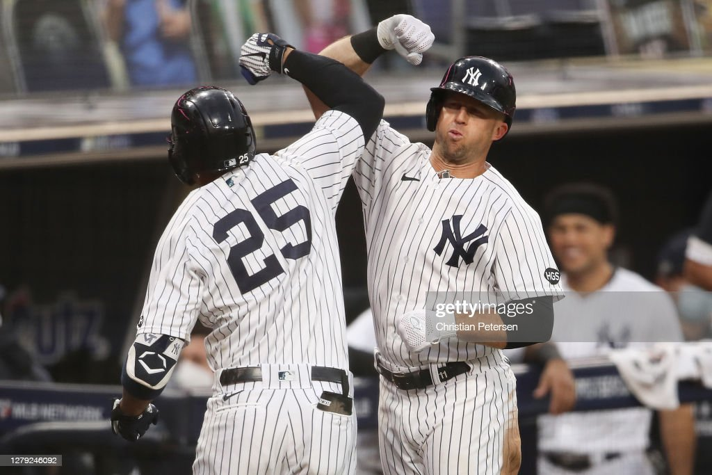 Division Series - Tampa Bay Rays v New York Yankees - Game Four : News Photo