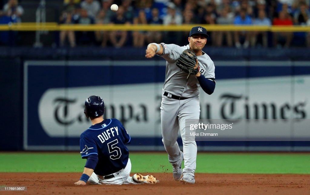 New York Yankees v Tampa Bay Rays : News Photo