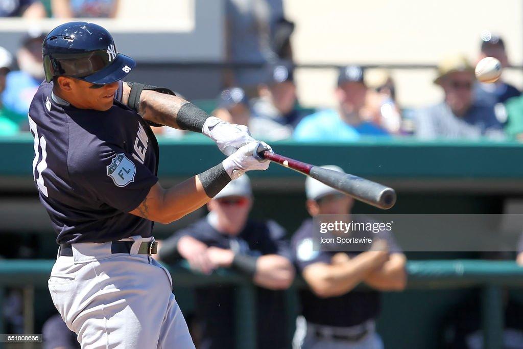 MLB: MAR 17 Spring Training - Yankees at Tigers : News Photo