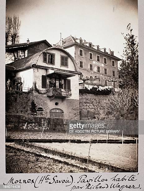 Glicini Richard Wagner's holiday home in Mornex France 19th century Paris BibliothèqueMusée De L'Opéra National De ParisGarnier
