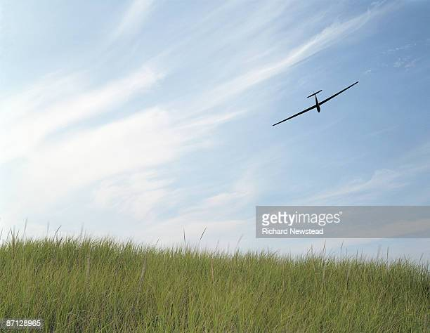 Segelflugzeug in Himmel