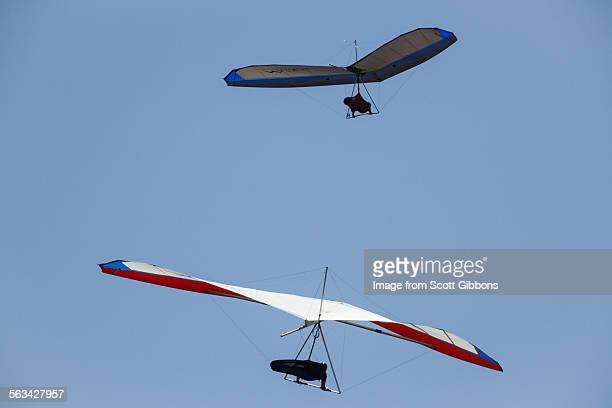 gliders - gliding stock pictures, royalty-free photos & images