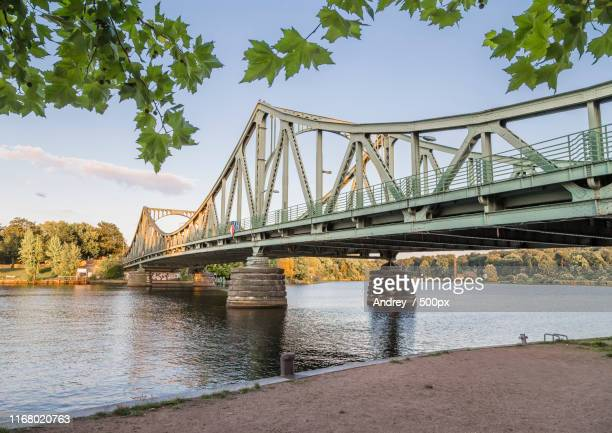 glienicke bridge - teltow canal stock pictures, royalty-free photos & images
