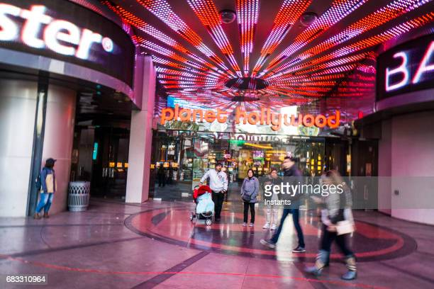 A glimpse at Las Vegas Miracle Mile Shops.