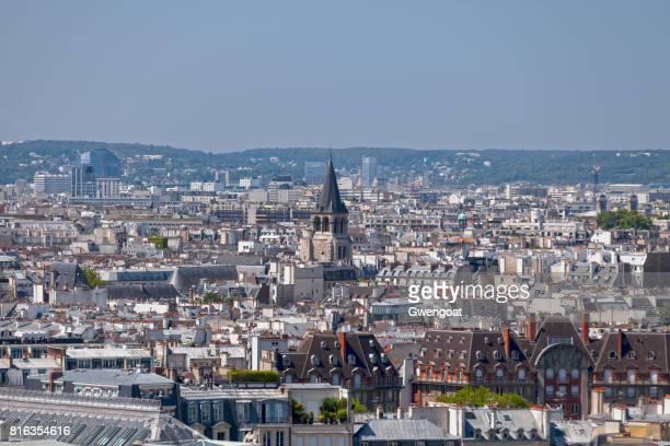 église de saint germain des prés in paris - gwengoat stock pictures, royalty-free photos & images