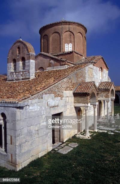 L'église orthodoxe d'Apollonia Albanie