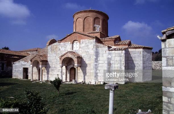 L'église Orthodoxe du village d'Apollonia Albanie