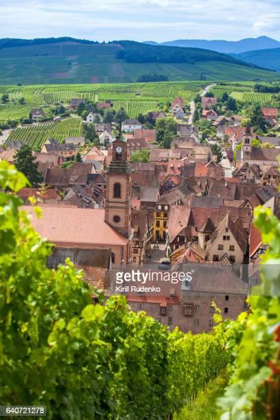 L'église protestante Sainte-Marguerite, Riquewihr, Alsace, France