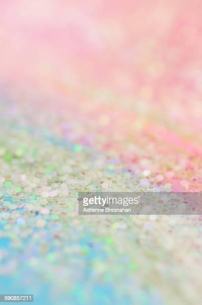 Glitter over the rainbow