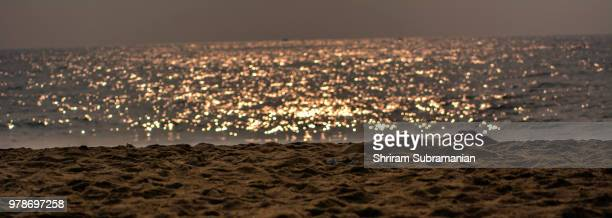 Glittering Beach or a City at Night