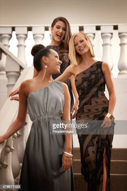glitz and glamour - evening wear stock pictures, royalty-free photos & images