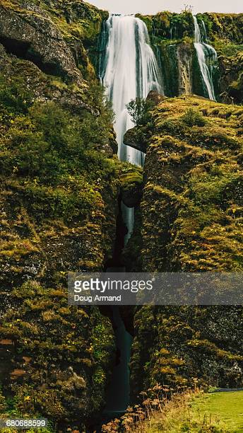 Gljufrafoss waterfall in Southern Iceland
