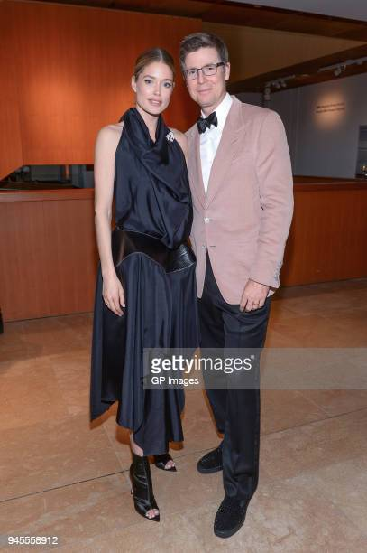 Global Ambassador of Knot On My Planet Doutzen Kroes and Chairman of Loblaws Galen Weston attend the Holt Renfrew Knot On My Planet Gala held at the...