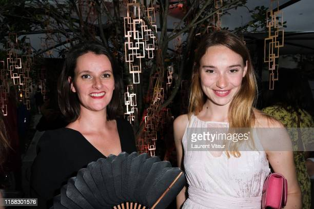 Global Brand Director of Rare Champagne Maud Rabin and Deborah Francois attend the Millesime Champagne Rose 2008 By Maison Piper Heidsieck : Launch...