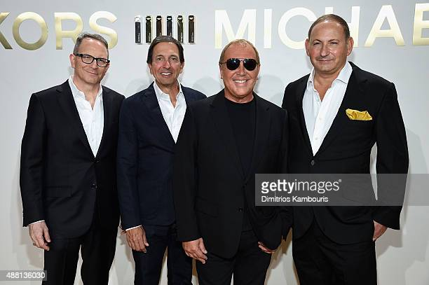 Global Brand President of Aramis Designer Fragrances Daniel Annese Chairman CEO of Michael Kors John Idol designer Michael Kors and Group President...
