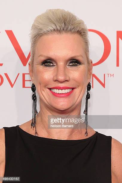 Global Brand President of MAC Cosmetics Karen Buglisi Weiler attends Elton John AIDS Foundation's 14th Annual An Enduring Vision Benefit at Cipriani...
