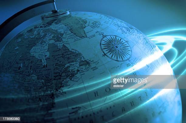 Global affaires-Bleu vert