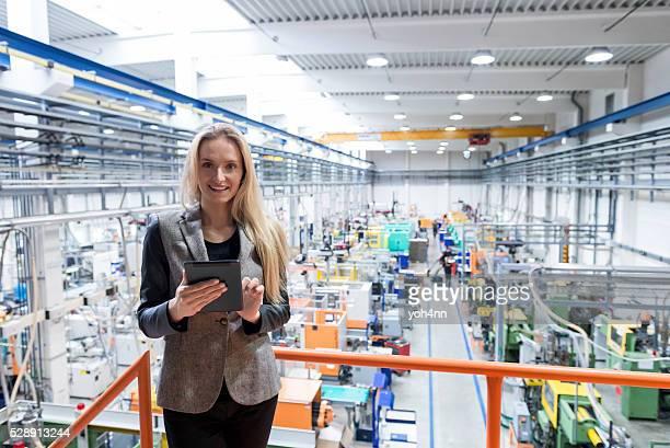 Global Business-Kommunikation in Fabrik