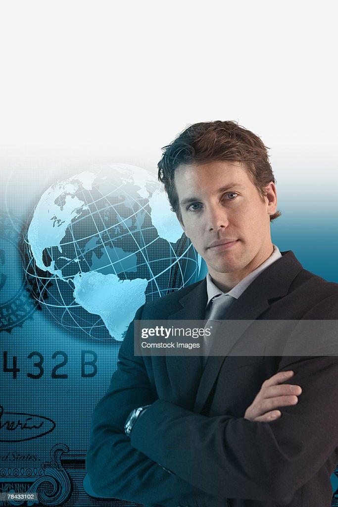 Global business concept : Stockfoto