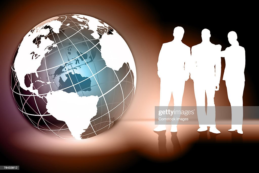 Global business concept : Stockfoto