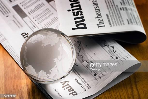 Global Business Journal financier pour asiatique économique de la Chine, Inde