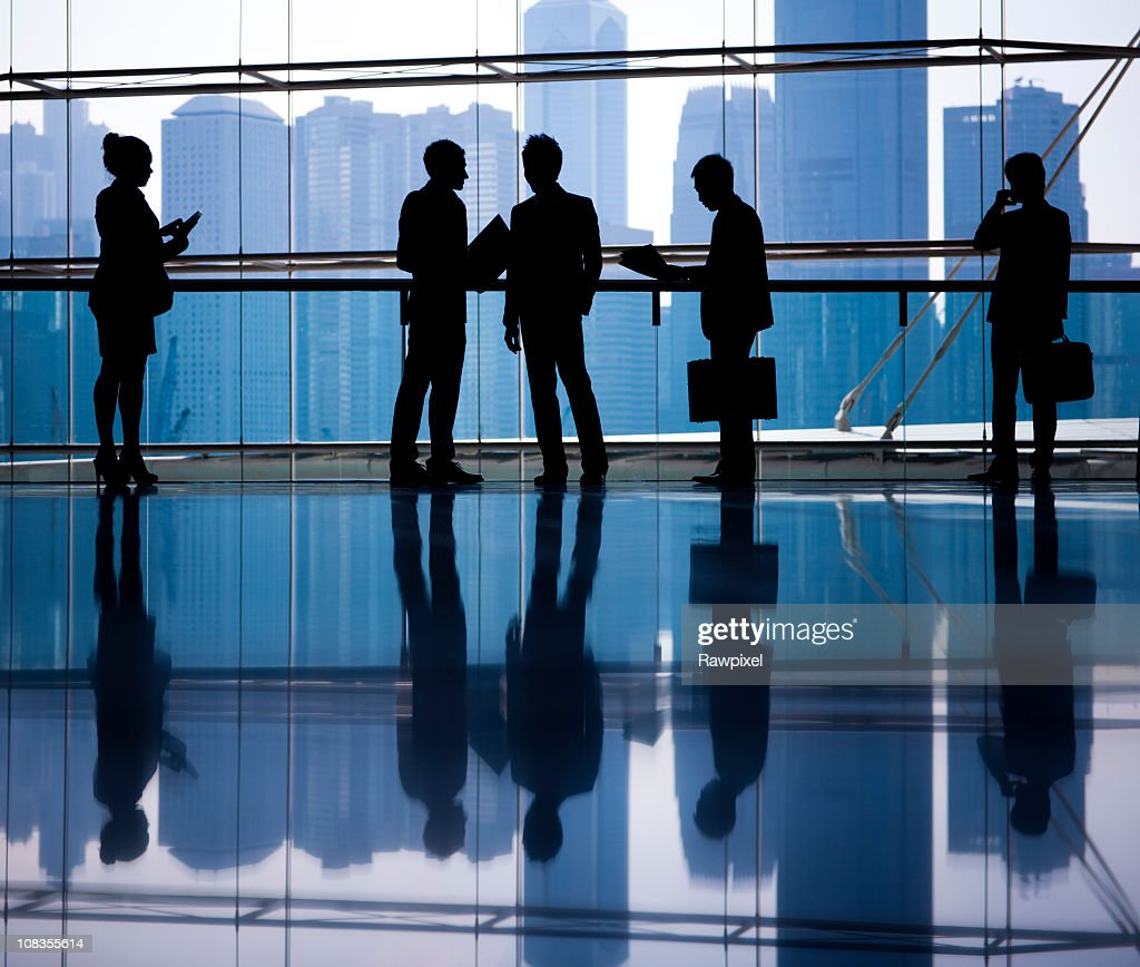 Global business people in Asia, Hong Kong. : Stock Photo