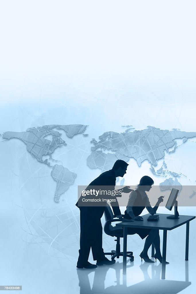Global business : Stockfoto
