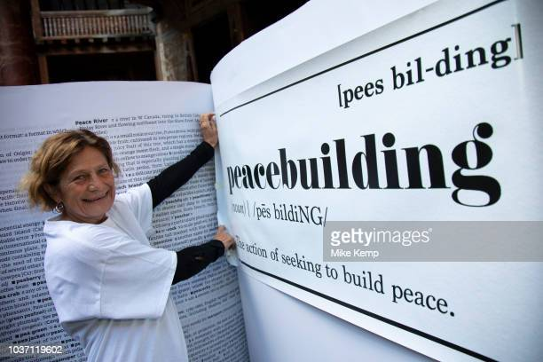 A global coalition of charities celebrated UN International Day of Peace by campaigning for the word peacebuilding to be included into the dictionary...
