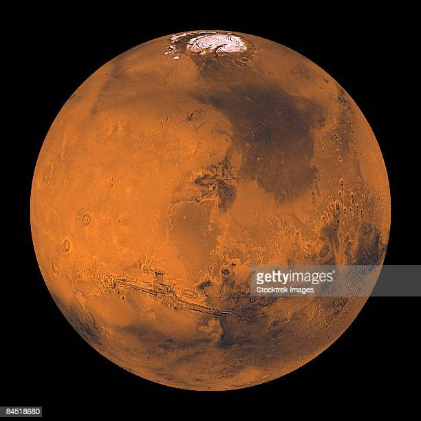 Global Color View of Mars.