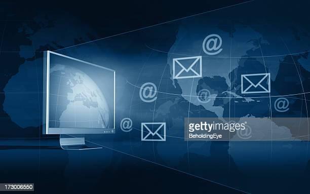 comunicação global xxl - tela grande - fotografias e filmes do acervo