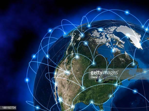 グローバルコミュニケーション、アメリカ