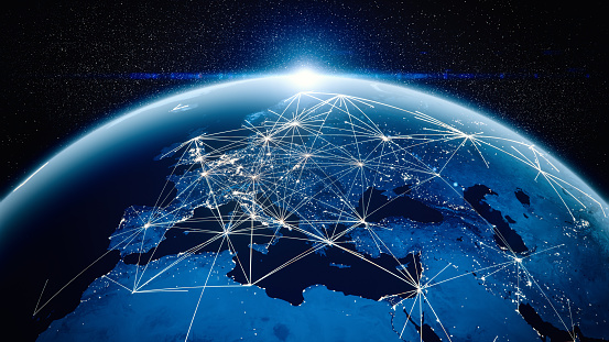 Global Communications From Cities 1144319087