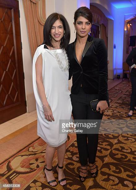 Global Director of Equality Now Yasmeen Hassan and actress Priyanka Chopra attend The Equality Now's Make Equality Reality Event at Montage Beverly...