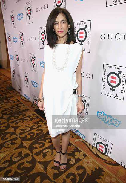Global Director of Equality Now Yasmeen Hassan attends The Equality Now's Make Equality Reality Event at Montage Beverly Hills on November 3 2014 in...