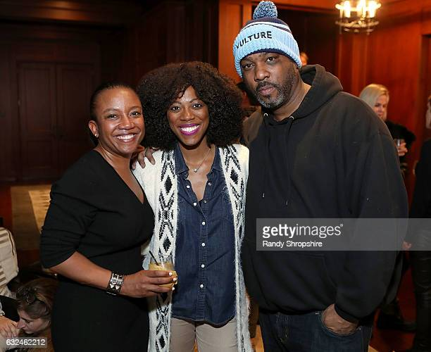 Global Director of Hardware Marketing at Google Deirdre Findlay actress Yvonne Orji and producer Mike Jackson attend Google Home x Sundance x...