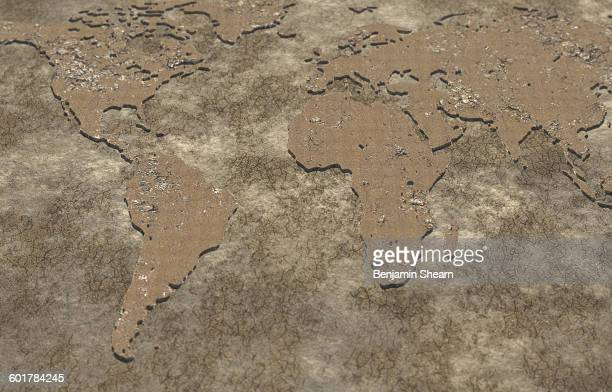 global drought - lake bed stock pictures, royalty-free photos & images