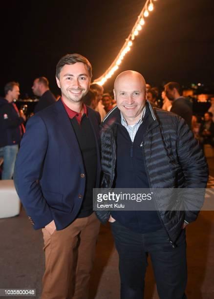 Global Head of Channel Management at Kaspersky Lab, Ivan Bulaev and VP of Enterprise Business at Kaspersky Lab, Veniamin Levtsov attend the dinner...