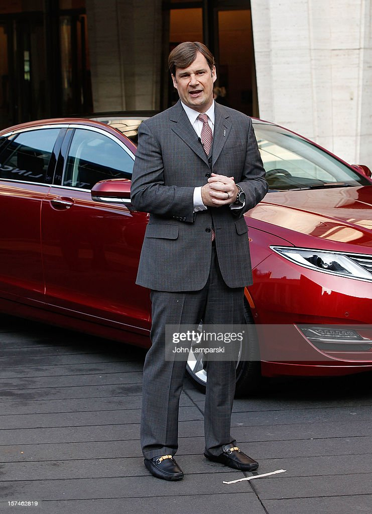 Global Head of Lincoln Motor Company Jim Farley attends Ford Lincoln Unveils New Brand Direction Lincoln With Emmitt Smith at Lincoln Center on December 3, 2012 in New York City.