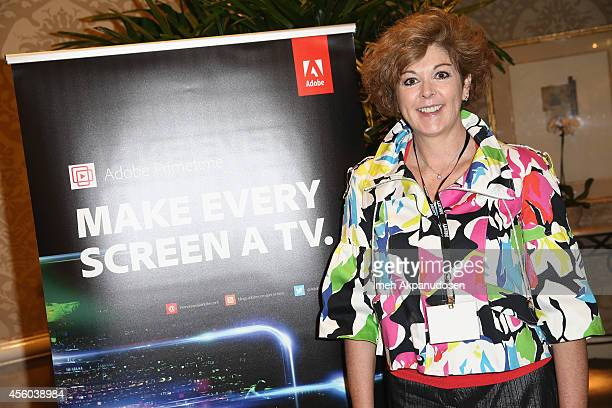 Global Head of Media Broadcast Entertainment Industry Strategy Marketing Adobe Jennifer Cooper attends the Hollywood IT Society's Digital Marketing...