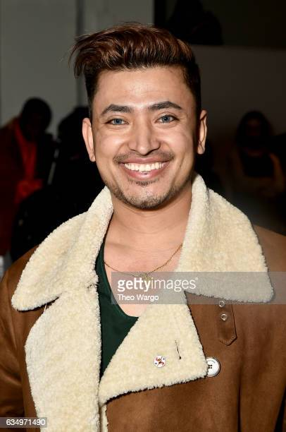 Global Luxury Ambassador Pritan Ambroase attends the Vivienne Hu collection during New York Fashion Week The Shows at Gallery 2 Skylight Clarkson Sq...