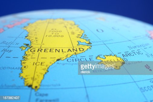 Global mapgreenland amp iceland stock photo getty images gumiabroncs Choice Image