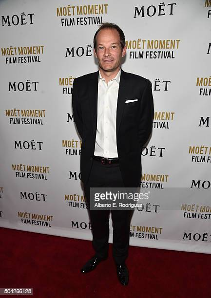Global Marketing Director Renaud Butel attends Moet Chandon Celebrates 25 Years at the Golden Globes on January 8 2016 in West Hollywood California