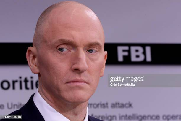 Global Natural Gas Ventures founder Carter Page participates in a discussion on 'politicization of DOJ and the intelligence community in their...
